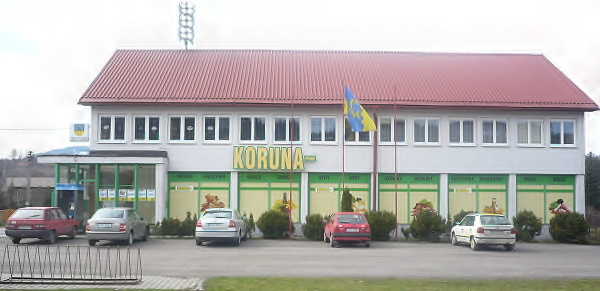 Obecní Úřad a prodejna Koruna
