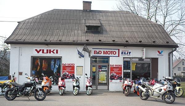 Prodejna motocyklů